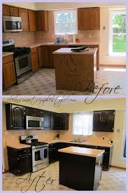 staining kitchen cabinets with gel stain clean smart simple style gel stain kitchen makeover