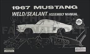 1967 ford mustang wiring diagram manual reprint