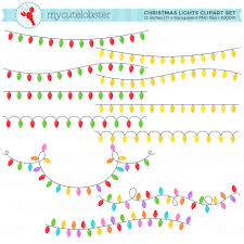 christmas martini clip art christmas lights clipart set clip art set of string lights