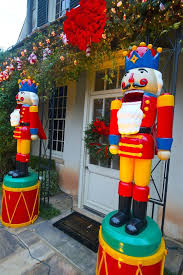 life size nutcracker outdoor christmas decorations uk the foot