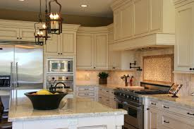 Stone Backsplash For Kitchen by Kitchen Stone Backsplash With White Cabinets Eiforces