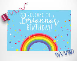 Rainbow Party Decorations Rainbow Birthday Rainbow Party Rainbow Party Decorations