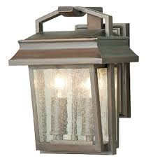 elstead balmoral ip43 wrought iron 3 light outside wall half