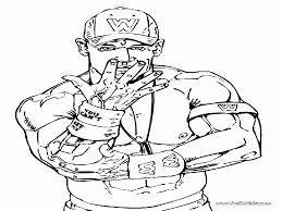 john cena coloring pages alric coloring pages