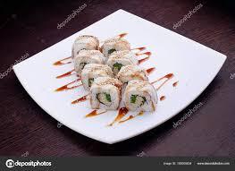 jeu de cuisine sushi jeu de maki sushi sur plaque blanche cuisine japonaise