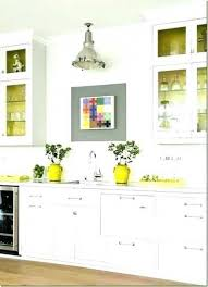 kitchen walls decorating ideas gray and yellow kitchen decorating ideas revistaoronegro com with