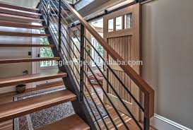 Metal Stair Banister Metal Stair Railing Indoor Unique Shaped Decoration Fence Metal