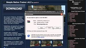 how to install gta iv trainer youtube