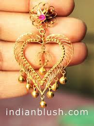 bengali gold earrings kaan bala bengali name chandelier earring زینت و جواهر