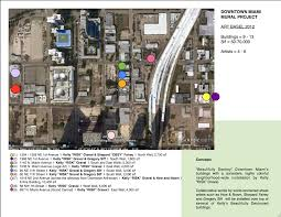 Map Of Miami Neighborhoods by Pre Art Basel Overlooked Area Of Downtown Miami Transformed Into