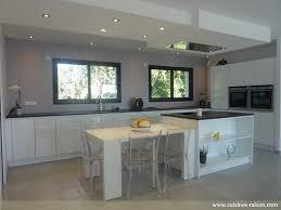 hotte cuisine plafond hotte plafond moteur deporté maison image idée