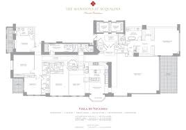 Stone Mansion Floor Plans by Mansions At Acqualina U2013 Miami Invest Realty