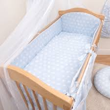 5 piece baby bedding set nursery cot cot bed long all round padded