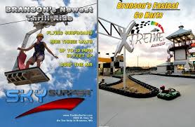 the sky surfer xtreme racing center two of the best branson