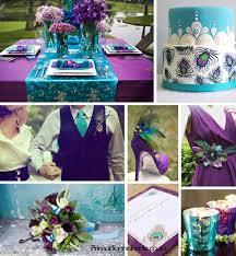 purple and turquoise wedding chr s the brilliant purple and turquoise peacock inspired