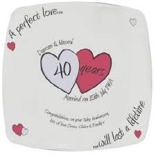 40th wedding anniversary gifts for parents 40th wedding anniversary gifts for parents ideas tbrb info