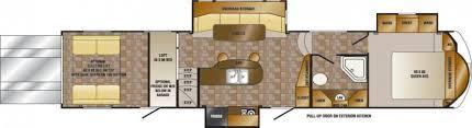 rv floor plans cardinal and montana floor plans