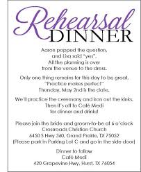 Rehearsal Dinner Invitations Wedding Rehearsal Dinner Invites Kawaiitheo Com