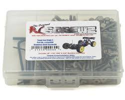 losi 8ight t manual rc screwz team losi 8ight e stainless steel kit rczlos060