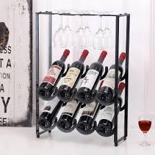 wine bottle u0026 glass storage racks mygift