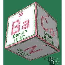 element bacon 3d ornament cross stitch sewing pattern pdf