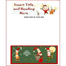christmas flyer template free publisher best business plan
