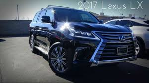 cars lexus 2017 2017 lexus lx570 5 7 l v8 review youtube