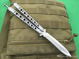 tactical knife silver bm41 knife high end bm butterfly blisong