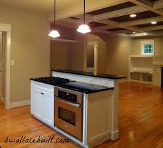 kitchen island with separate stove top from oven perfect