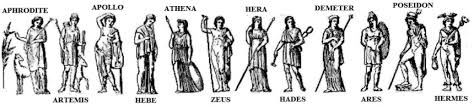 greek gods family tree and genealogy