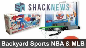 backyard sports nba u0026 mlb mobile games preview youtube