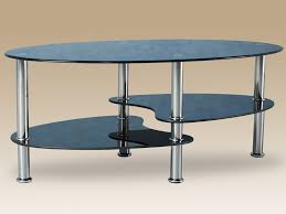 Cara Coffee Table Flat Packed Cara Black Glass Coffee Table