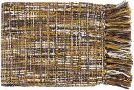 Brown Throw Rugs Surya Area Rugs Tabitha Throws Tat 8201 Gold Gray Throw