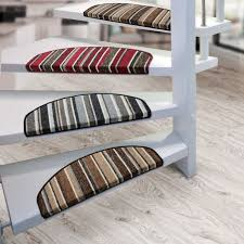 exciting stair treads carpet for interior home decor ideas unique