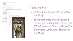 lesson 33 determine a theme of u201cthe gift of the magi u201d identify a