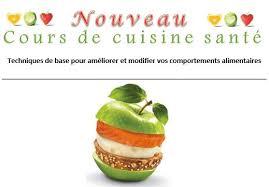 cuisine et santé cours de cuisine santé pavillon du coeur beauce etchemin
