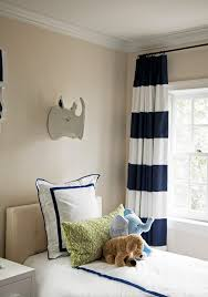Rugby Stripe Curtains Blue And Green Big Boy Room Navy Curtains Pink Accents And
