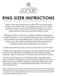 mens wedding ring sizes free ring sizing kit jewelry by johan custom rings jewelry by johan