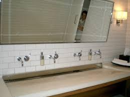 bathroom trough sink pin by wayne aretz on restaurant bathroom ideas pinterest big