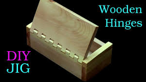 how to make a box with wooden hinges only with a table saw youtube