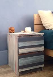 Malm Dresser Painted by Ikeaenik Ikea Malm Remake In Blues Just Me Pinterest Ikea