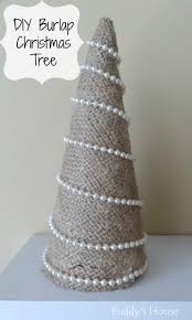 easy diy burlap christmas tree u2013 puddy u0027s house