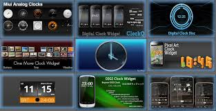 analog clock widgets for android los mejores clock widgets para android reloj para android