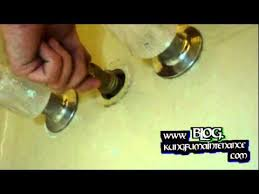 Bathtub Faucet Shower Diverter How To Replace Diverter Valve Compression Style Tub To Shower