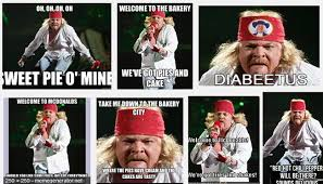 What Is An Exle Of A Meme - fat axl rose know your meme