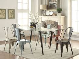 Scandinavian Dining Room Furniture Dining Table Having Round Tapered Legs Scandinavian Dining Room