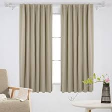 Amazon Thermal Drapes Amazon Com Deconovo Solid Insulated Thermal Window Blackout