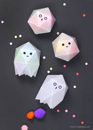 printable wax paper ghost boxes for treats mr printables
