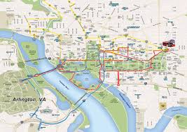 Metro Map Washington Dc Washington Dc Open Top Sightseeing Bus Tour
