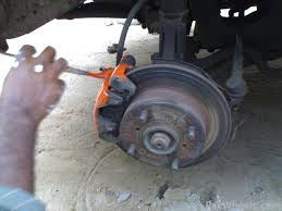 5th step paint the drums and brakes callipers